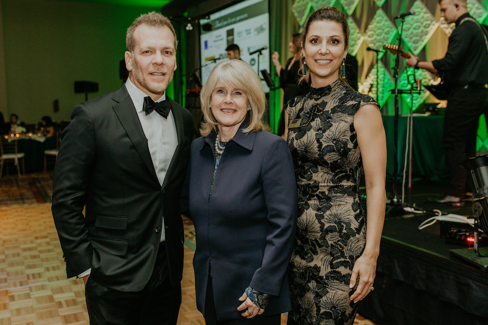 Brian, the 2019 Tennessee Voices for Children Gala Chair with Mrs. Tipper Gore, founder of TVC and Rikki Harris, CEO of TVC. This years event raised almost $1M for youth mental health in the state of TN.